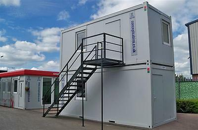 BRAND NEW - Pair of 20' x 8' Open Plan Units & Staircase AMAZING VALUE!