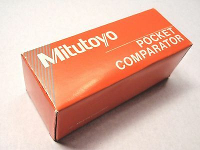 Mitutoyo 183-901 Pocket Comparator with No. 5 Reticle, 8x Magnification