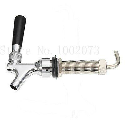 Draft Beer Faucet With 92.5mm G5/8 Long Shank Combo Kit Tap For Kegerator
