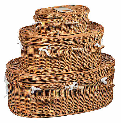 Wicker Pet Coffin
