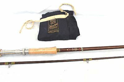 9'-6 Hardy The Fibalite spinning  fishing rod unused condition plastic on handle