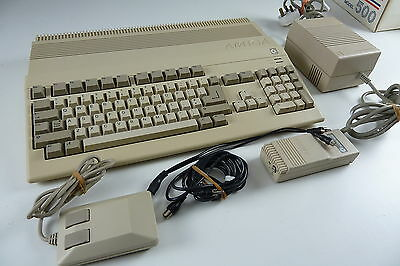 Early Commodore Amiga Boxed The condition is stunning fully working Red Leds