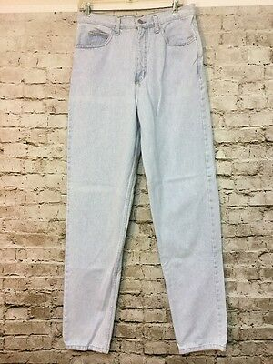 Vtg 80 90s Guess High Waisted Mom Jeans Tapered Leg Stone Wash Women's 34 12