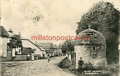 Printed Postcard Of The Blind House, Shrewton, (Near Warminster), Wiltshire