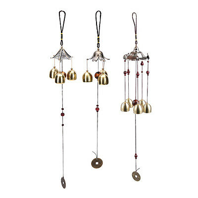 1Pc Large Copper Antirust Campanula Wind Chimes Home Decoration Decoration to