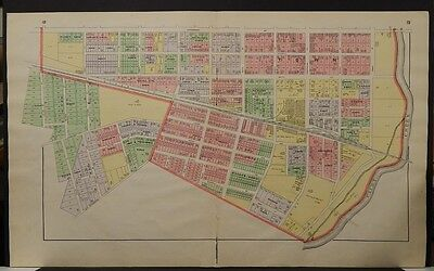 Ohio, Highland County Map, 1916, Greenfield, Two Double Pages, L1#01