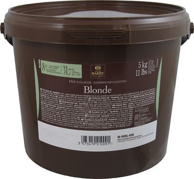 Cacao Barry Pate a Glacer Blonde 11 Lbs