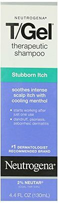 6 Pack - Neutrogena T/Gel Therapeutic Shampoo Stubborn Itch 4.40 oz Each