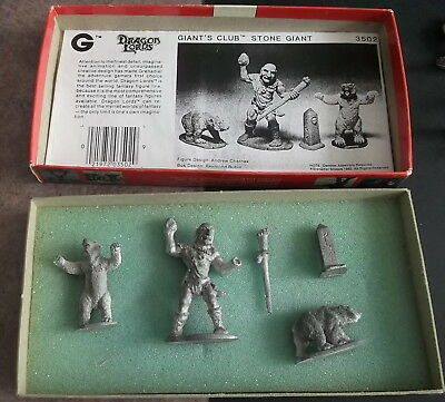 Ral partha Grenadier dungeons & dragons Mountain Giant & Club Boxed set 3502