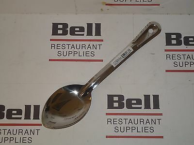 "*NEW* Royal Industries 11"" Stainless Steel Solid Basting Spoon - FREE SHIPPING"