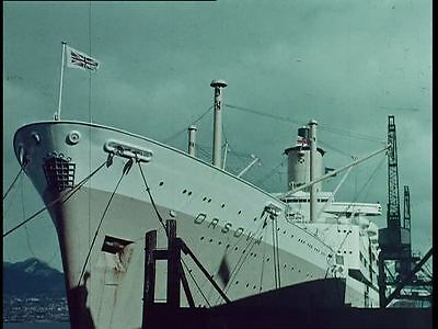 "SS ORSOVA ""ACROSS THE PACIFIC"" 1964 DVD,,Orient Line,Vickers Armstrong"