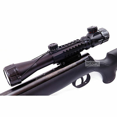 3-9x40 Air Rifle Tactical Scope Hunting Airsoft Rimfire ILLUMINATED RETICLE