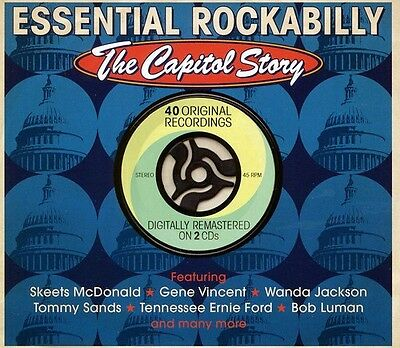 Various Artists - Essential Rockabilly: Capitol Story / Various [New CD]