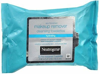 2 Pack - Neutrogena Makeup Remover Cleansing Towelettes 25 Each