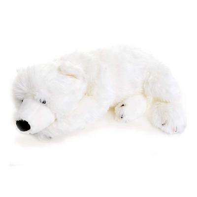 Soft Plush Floppy Polar Bear 70cm by Dowman Imports, Teddy Polar Bear