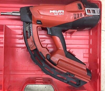 Hilti GX120 Gas Actuated Fully Automatic Fastening Concrete Nail Gun- Excellent!