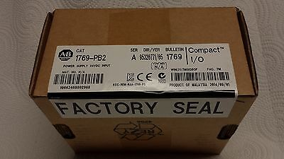 New Factory Sealed Allen Bradley 1769-PB2 Compact Power Supply 24V Series A