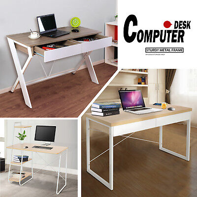 Computer Desk Office Home Storage PC Study Table Student Business Workstation