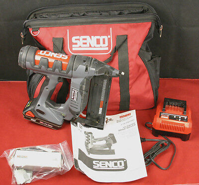 SENCO F-18 Fusion Cordless 18v 18 ga. Finish Brad Nailer FN55AX w/ Zippered Bag