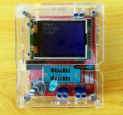 Case Shell for TFT GM328 Transistor Tester Diode LCR ESR meter PWM Square wave