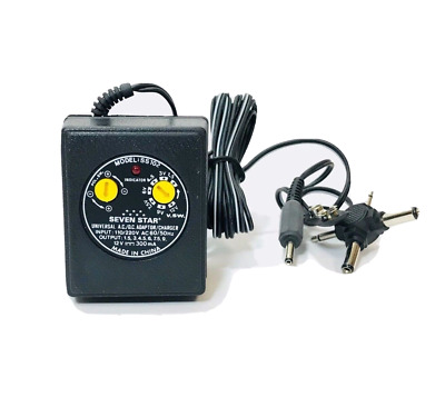 110V 220V Volt AC DC Adapter 300ma with Multiple Output Adaptor