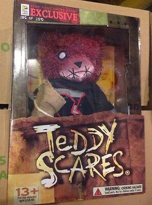 """12"""" Teddy Scares Edwin Morose - LIMITED COLLECTORS EDITION Of 250"""
