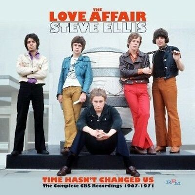 Love Affair / Steve - Time Hasn't Changed Us the Complete 1967-71 [New CD]