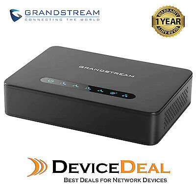 Grandstream HT814 4 Port FXS Analog Telephone Adapter (ATA) 2x 1Gb Ethernet Port
