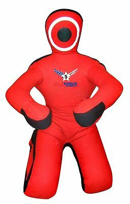 Red Canvas Wrestling Grappling Dummy | Submission Style