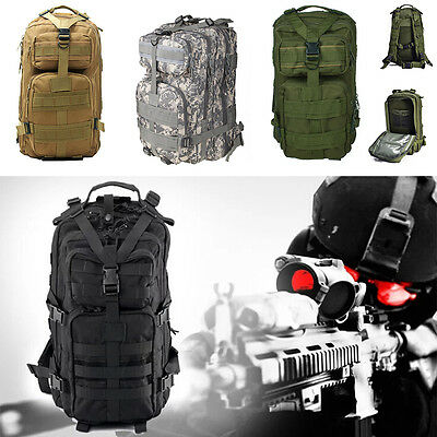 New Outdoor Military Tactical Rucksack Backpack Camping Hiking Hunt Trekking Bag