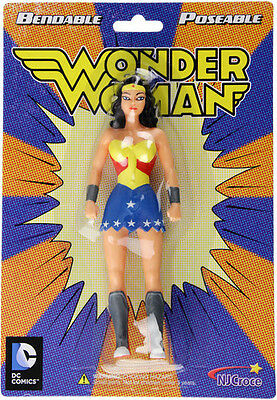 Wonder Woman New Frontier 5.5 Bendable Figure (2015, Toy NEW)