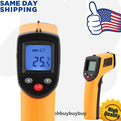 Handheld Non-Contact Digital Thermometer Ir Laser Temperature Gun Infrared Ub