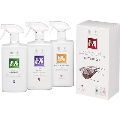 Autoglym Perfect Interior Kit + FREE PAIR OF LATEX GLOVES