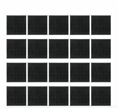 Miniatures base Lot of 100 25mm Square Bases for war-games and table games