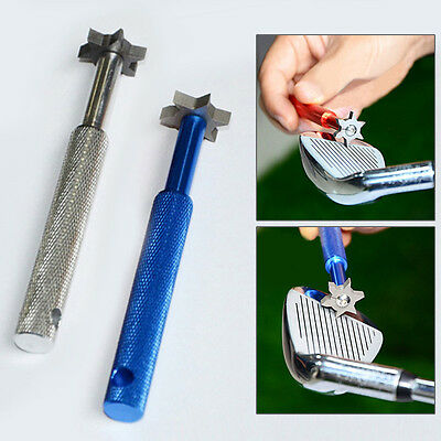 Practical Golf Groove Cleaner Upgrade Club Cleaning Tool Golf Clean Accessory