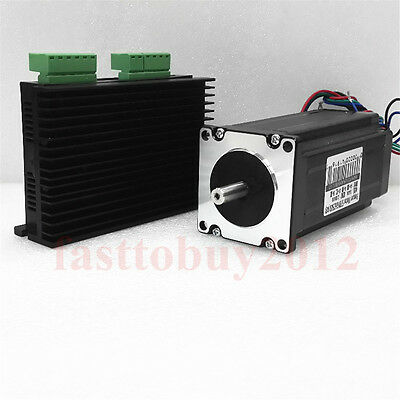 Stepper Motor Drive Kit NEMA23 2Phase 0.72NM 1NM 1.7NM 2.8N.M for CNC Cutting