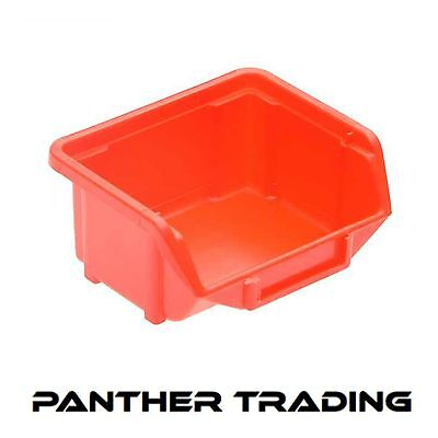 Terrys Plastics Red Eco Boxes For Parts Storage Various Sizes