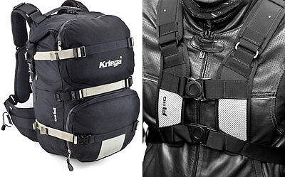 Kriega R30 Motorcycle Rucksack Back Pack Touring Commuting Kreiga 30 Litre