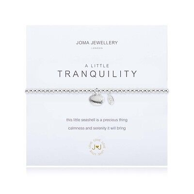 Joma Jewellery A Little Tranquility Bracelet Silver Plated Free Gift Bag