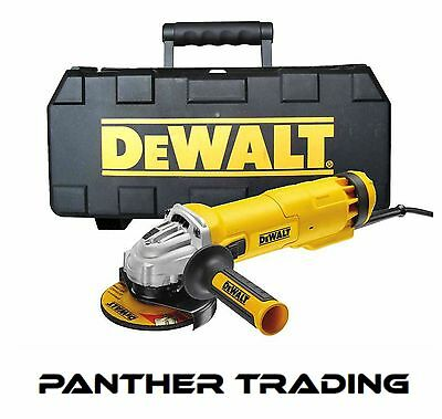DeWalt Corded 115mm Mini Grinder 1010W / 240V With Kitbox - DEWDWE4206K