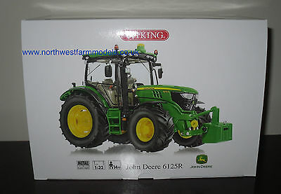 Wiking 1/32 Scale John Deere 6125R Model Tractor