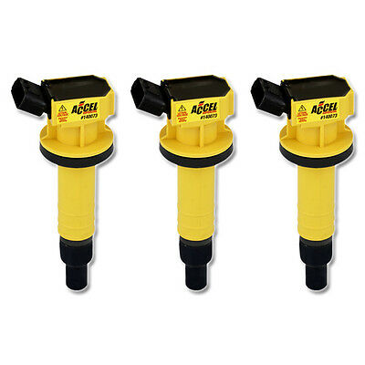 ACCEL Performance Ignition SuperCoil for Citroen C1 1,0 cc (from 2005), 3 Pack