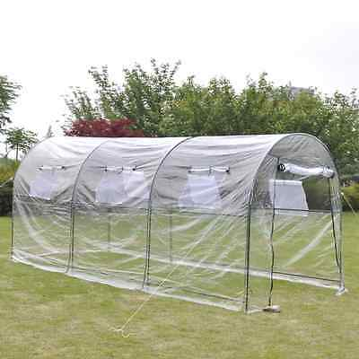 4.5m Walk In Greenhouse Garden Plants Care Weather Temperature Pest Control Shed