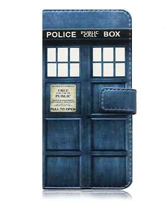Doctor Who Samsung Galaxy S 5 6 7 Edge 8 S9 Plus Note 8 9 Case Flip Wallet Cover