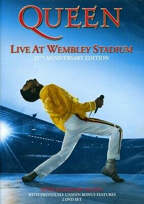 Queen: Live at Wembley Stadium [25th Anniversary Edition] [2 Dis (2011, DVD NEW