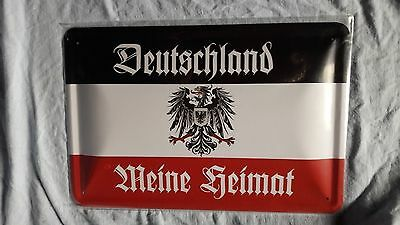deutschland meine heimat 1 blechschild 20 x 30 cm eur. Black Bedroom Furniture Sets. Home Design Ideas