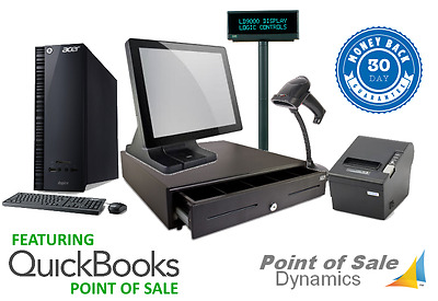 Custom Retail Point of Sale System Featuring Intuit Payment Processing