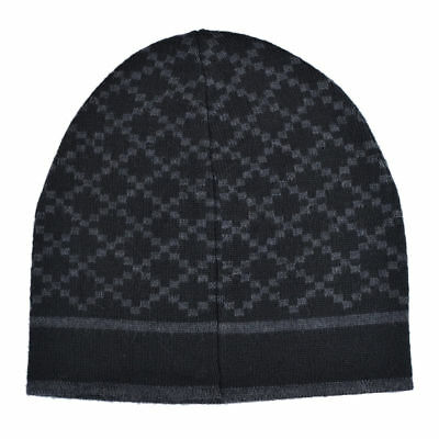GUCCI UNISEX MULTI-COLOR 100% Wool Beanie Hat One Size -  159.99 ... dcd78a0e8fa