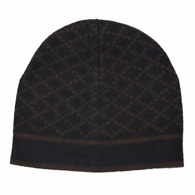 43e64187c GUCCI UNISEX MULTI-COLOR 100% Wool Beanie Hat One Size