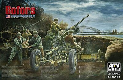 AFV35163 1/35 AFV CLUB Bofors 40mm AA Gun